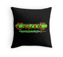 Celtic Knights logo Throw Pillow