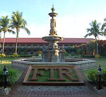 Fort Ilocandia Resort fountain  by walterericsy