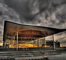 Welsh National Assembly by Tim Hall