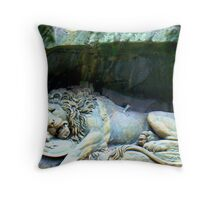 Monument To Bravery Throw Pillow
