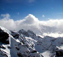 Rugged Alps II by Al Bourassa