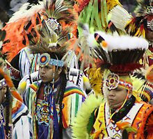 Blackfoot Dancers by Alyce Taylor