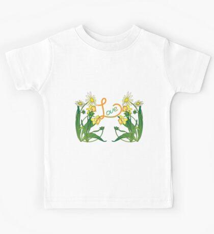 Daisies and daffodils Kids Tee
