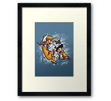 Logan and Victor Framed Print