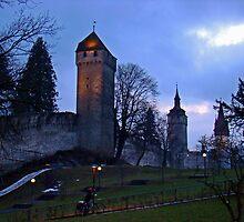 Lucerne Fortress by Al Bourassa