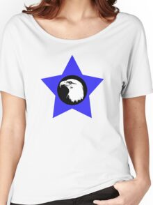 Bald Eagle (White) T-Shirt Women's Relaxed Fit T-Shirt