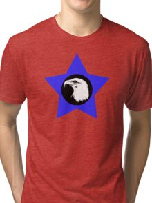 Bald Eagle (White) T-Shirt Tri-blend T-Shirt