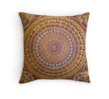 Oriental Art Throw Pillow
