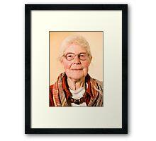 Granny Mary Framed Print