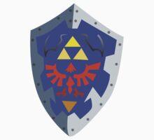 Link's Hylian Shield by kndll