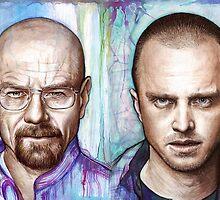 Walter and Jesse - Breaking Bad by OlechkaDesign