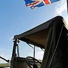 World War 2 Jeep & Union Flag by buttonpresser