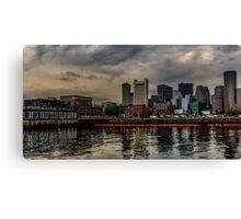 Blue sunrise in Boston, MA Canvas Print