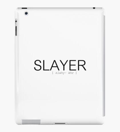 How to pronounce Slayer iPad Case/Skin