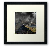 3921 Framed Print