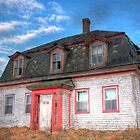 Abandoned House in Rockville by Debbie  Roberts