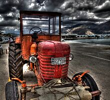 Greek Tractor by Paul Thompson Photography