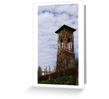 Tuscan Tower Greeting Card