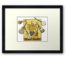 Gerry Hundt, classic 6-arm design by Colby Aitchison Framed Print