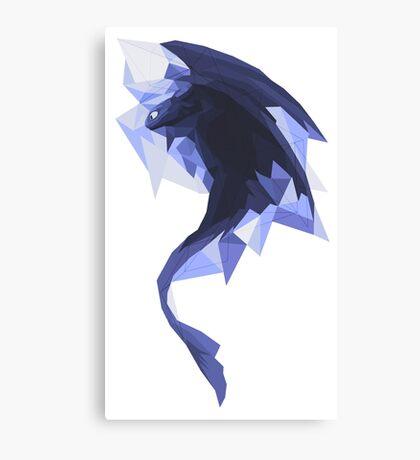 Diamond toothless Canvas Print