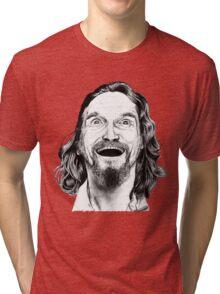 "Jeff ""The Dude"" Lebowski Tri-blend T-Shirt"