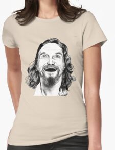 "Jeff ""The Dude"" Lebowski Womens Fitted T-Shirt"