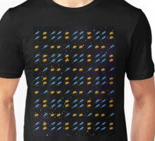 Space Invader Rocket Ship Pattern Unisex T-Shirt