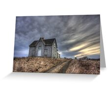 Abandoned House, Pembrook Nova Scotia Greeting Card
