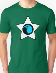 Bald Eagle (Blue) T-Shirt T-Shirt
