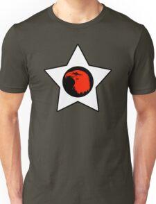 Bald Eagle (Red) T-Shirt Unisex T-Shirt