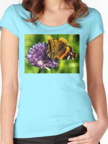 The Red Admiral Women's Fitted Scoop T-Shirt