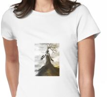 Touch of Winter Womens Fitted T-Shirt