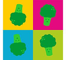 Popart Funny, Broccoli Photographic Print