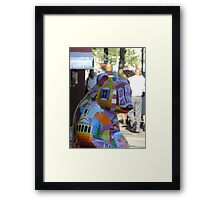 Ben's Bear Framed Print