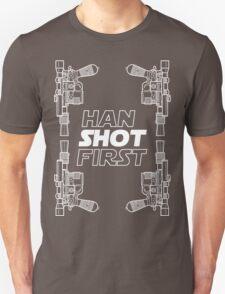 Han Shot First Shirt Unisex T-Shirt