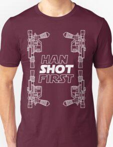 Han Shot First Shirt T-Shirt
