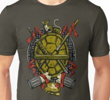 Turtle Family Crest Unisex T-Shirt