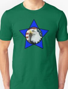 Bald Eagle & Blue Star T-Shirt