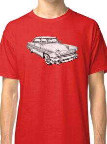 1955 Lincoln Capri Luxury Car Illustration Classic T-Shirt