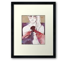 Supermassive Black Hole Framed Print
