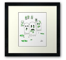The Infection - Ghost Framed Print
