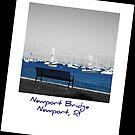 Newport Bridge, RI by Cathy O. Lewis