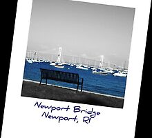 Newport Bridge, RI by Cathy O. Lewis
