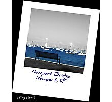 Newport Bridge, RI Photographic Print