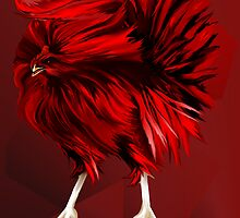 Big, Red Rooster  by Lotacats