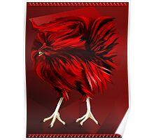 Big, Red Rooster  Poster