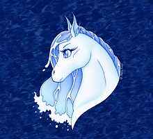 Nadi hippocamp - spirit of water by SilveryDreams