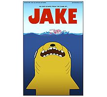 Adventure Time / Jaws Crossover Photographic Print
