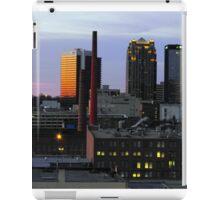 Sunsetting in Birmingham iPad Case/Skin
