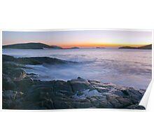 Fingal Bay Sunrise Poster